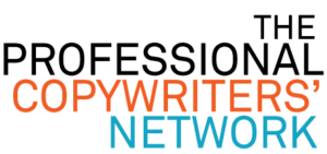 Old logo for The Profesional Copywriters Network